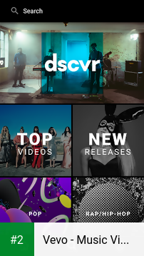 Vevo - Music Video Player apk screenshot 2