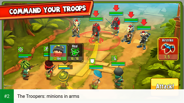The Troopers: minions in arms apk screenshot 2