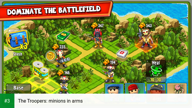 The Troopers: minions in arms app screenshot 3
