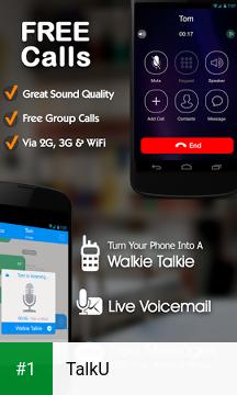 TalkU app screenshot 1
