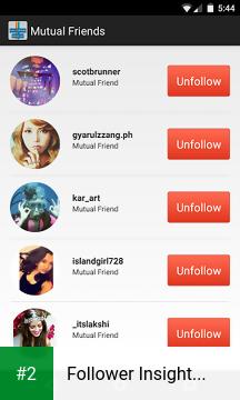 Follower Insight for Instagram apk screenshot 2
