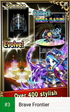 Brave Frontier app screenshot 3
