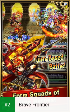 Brave Frontier apk screenshot 2