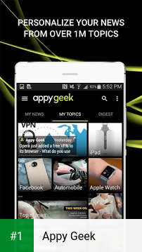 Appy Geek app screenshot 1