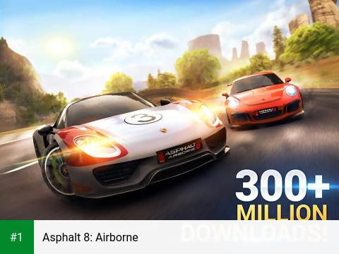 Asphalt 8: Airborne app screenshot 1