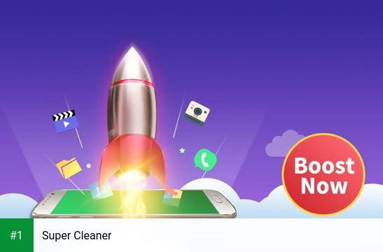 Super Cleaner app screenshot 1