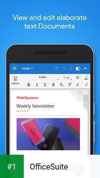 OfficeSuite app screenshot 1