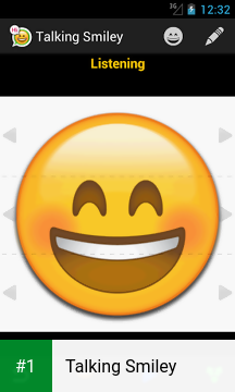 Talking Smiley app screenshot 1