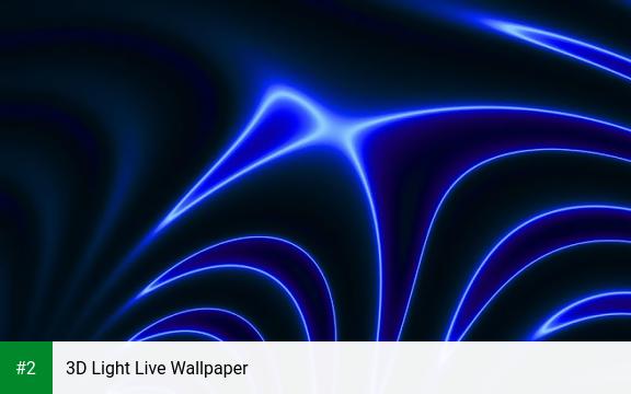3D Light Live Wallpaper apk screenshot 2