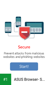 ASUS Browser- Secure Web Surf app screenshot 1
