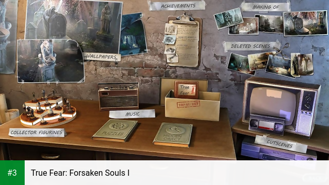 True Fear: Forsaken Souls I app screenshot 3