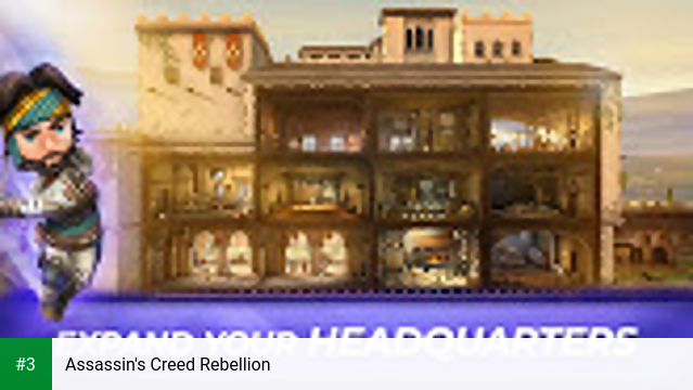 Assassin's Creed Rebellion app screenshot 3