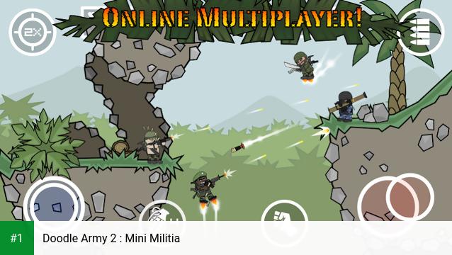 Doodle Army 2 : Mini Militia app screenshot 1