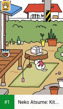 Neko Atsume: Kitty Collector app screenshot 1