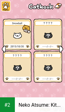 Neko Atsume: Kitty Collector apk screenshot 2