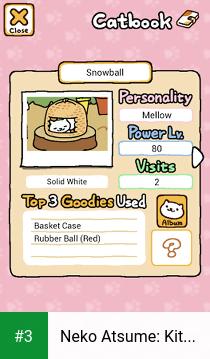 Neko Atsume: Kitty Collector app screenshot 3