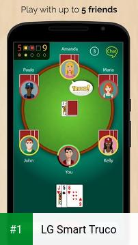 LG Smart Truco app screenshot 1