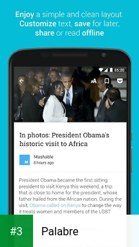 Palabre app screenshot 3