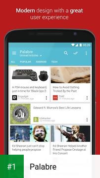 Palabre app screenshot 1