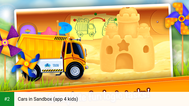 Cars in Sandbox (app 4 kids) apk screenshot 2