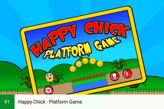 Happy Chick - Platform Game app screenshot 1