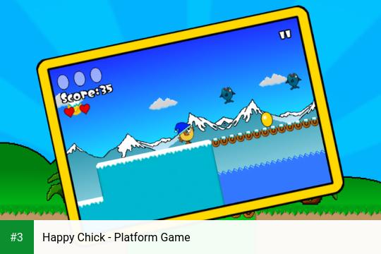 Happy Chick - Platform Game app screenshot 3