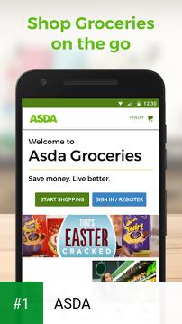 ASDA app screenshot 1
