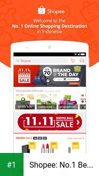 Shopee: No.1 Belanja Online app screenshot 1