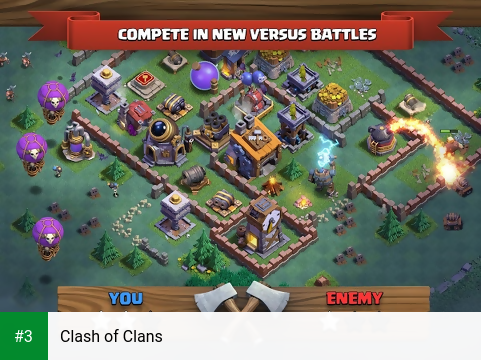 Clash of Clans app screenshot 3