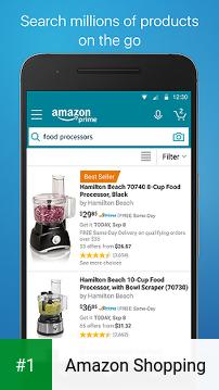 Amazon Shopping app screenshot 1