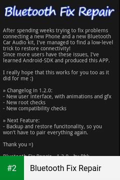 Bluetooth Fix Repair apk screenshot 2