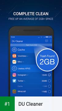 DU Cleaner app screenshot 1