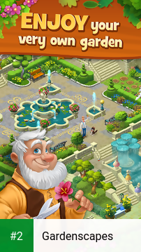 Gardenscapes apk screenshot 2