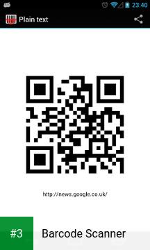 Barcode Scanner app screenshot 3