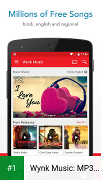 Wynk Music: MP3 & Hindi songs app screenshot 1