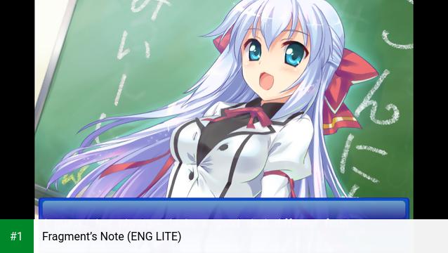 Fragment's Note (ENG LITE) app screenshot 1