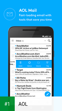 AOL app screenshot 1