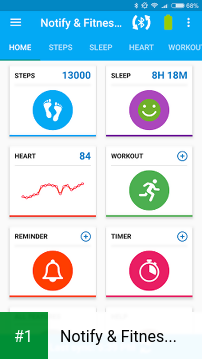 Notify & Fitness for Mi Band app screenshot 1