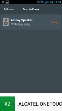 ALCATEL ONETOUCH WiFi Music apk screenshot 2