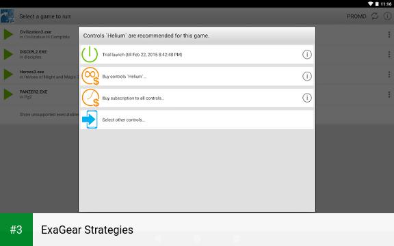 ExaGear Strategies app screenshot 3