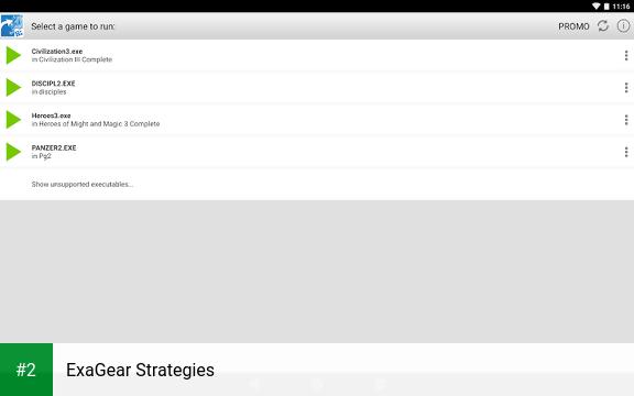 ExaGear Strategies apk screenshot 2