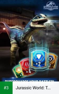 Jurassic World: The Game app screenshot 3