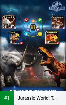 Jurassic World: The Game app screenshot 1