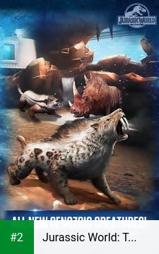 Jurassic World: The Game apk screenshot 2