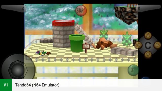 Tendo64 (N64 Emulator) app screenshot 1