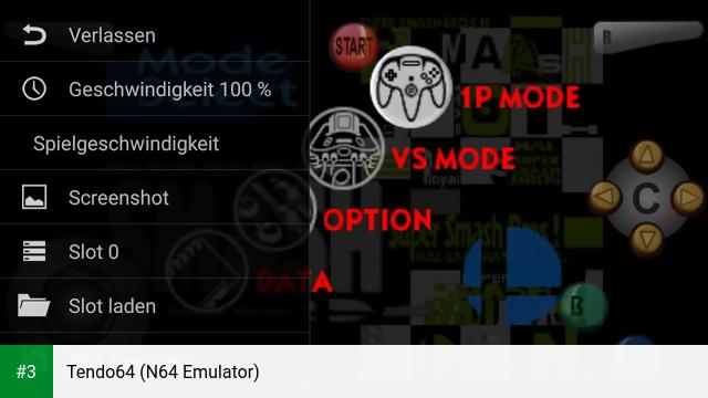 Tendo64 (N64 Emulator) app screenshot 3