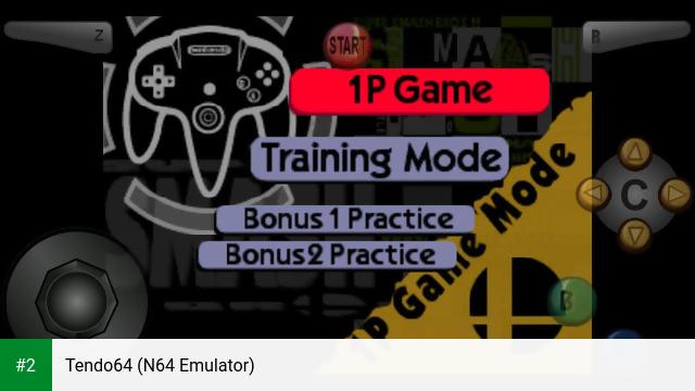 Tendo64 (N64 Emulator) apk screenshot 2