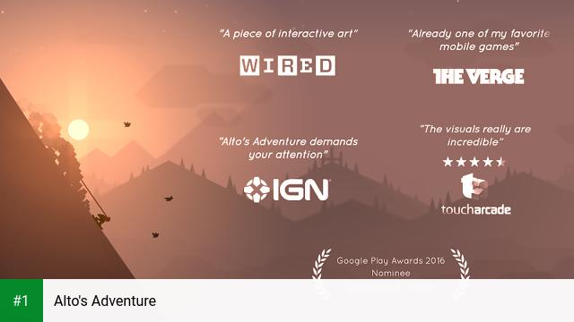 Alto's Adventure app screenshot 1