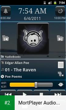 MortPlayer Audio Books apk screenshot 2