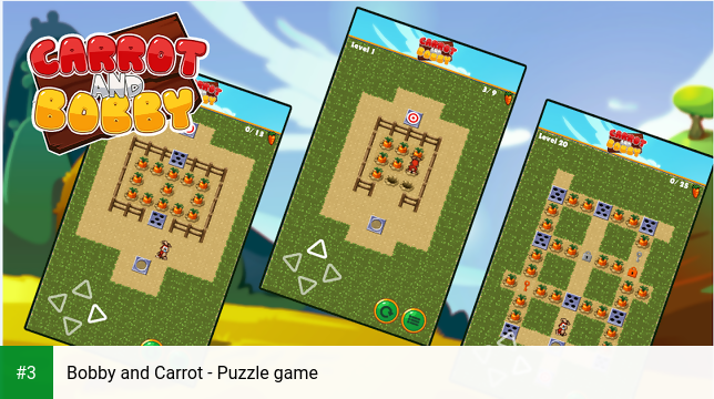 Bobby and Carrot - Puzzle game app screenshot 3